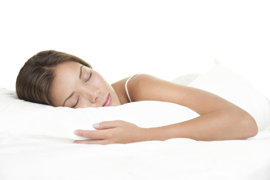 A peaceful sleep - because the label is firmly attached to the mattress and has become one with it.