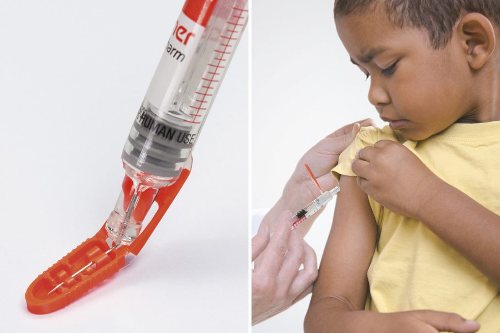 Safety for users: Needle-Trap protects against needlestick injuries.