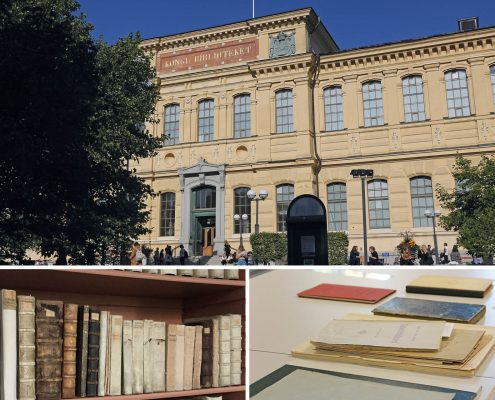 The National Library of Sweden in Stockholm has already equipped 30,000 of its most valuable and sensitive books and documents with the newly developed Archive Labels.